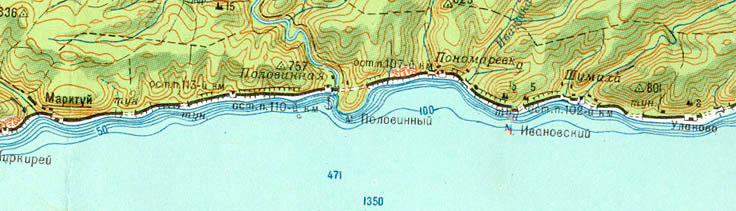 Шарыжалгай маритуй топографическая