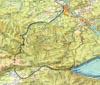 Карта варианта прокладки дороги по Китою